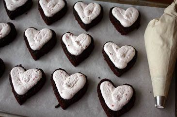 "<strong>Get the <a href=""http://zoebakes.com/2009/02/11/my-son-henris-valentine-vision/"">Heart Shaped Chocolate Raspberry Cre"