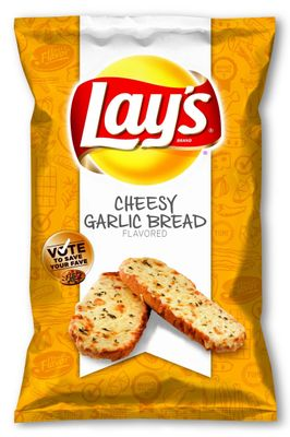Lay's Cheesy Garlic Bread Potato Chips Wins 'Do Us A Flavor