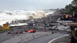 Aux Philippines, le super typhon Mangkhut fait ses premières