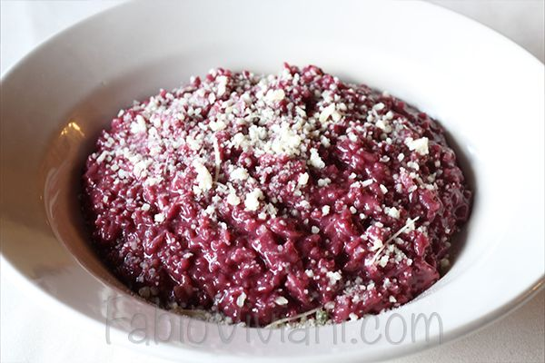 """<strong>Get the <a href=""""http://fabioviviani.com/general-recipes/red-wine-risotto-apple/"""">Red Wine Risotto with Apple</a> rec"""