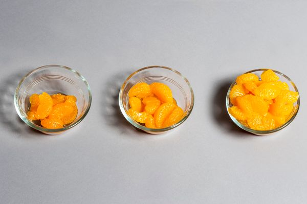 Dole Mandarin Slices In Light Syrup  <br> Canned orange slices are popular at salad bars and with just 50 calories in a quart