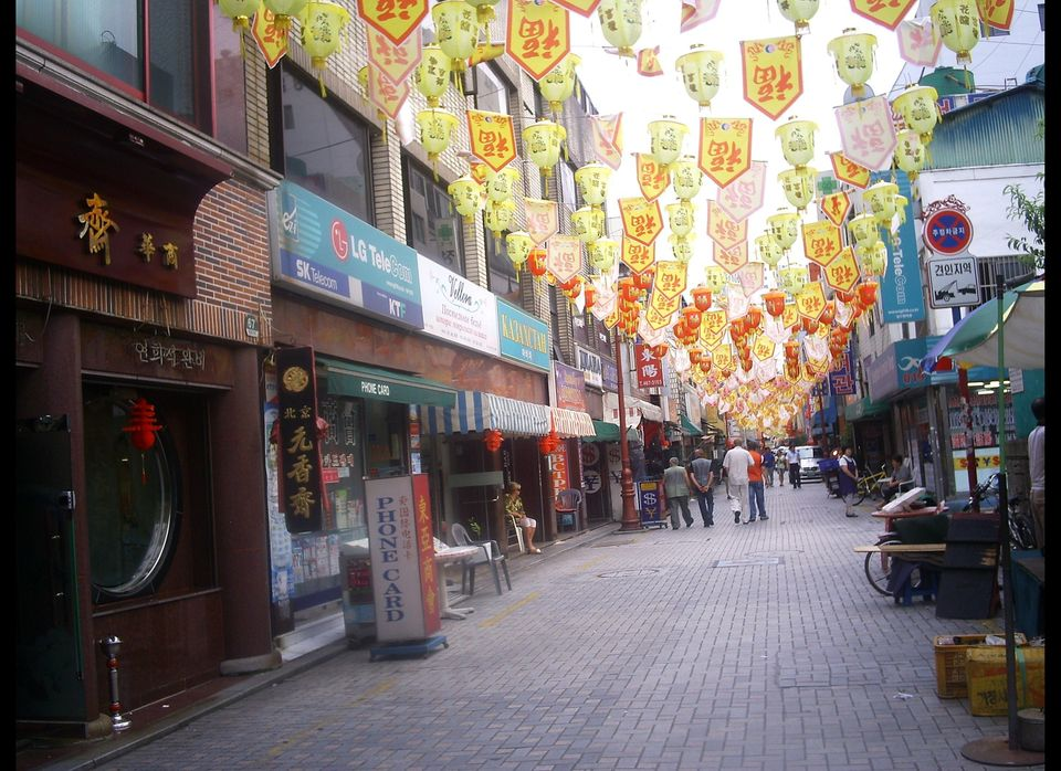 I never knew what I'd see in the China Town area of Choryang.