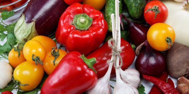 healthy food. fresh vegetables...