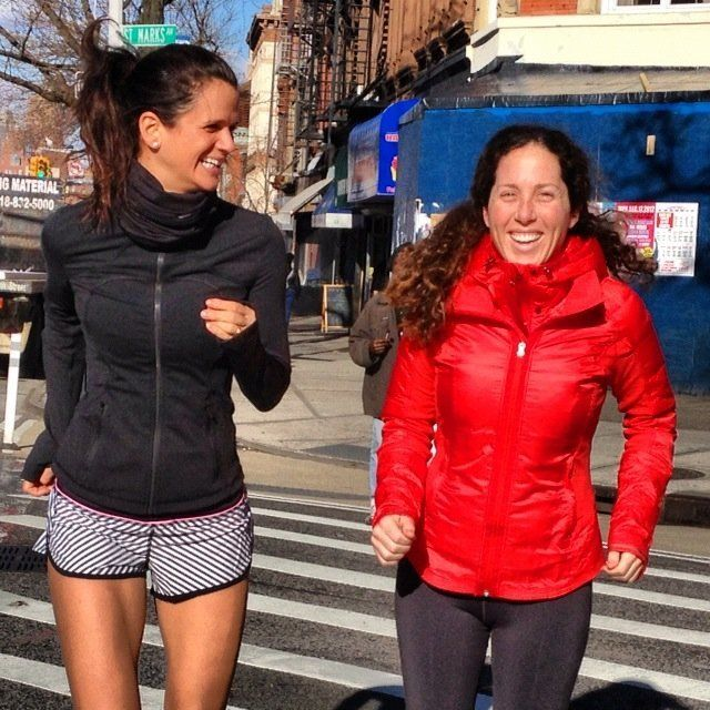 I'm a run coach who started Hot Bird Running with a good friend, Jessica Green (left), in May 2011. Jessica is my #youchillme