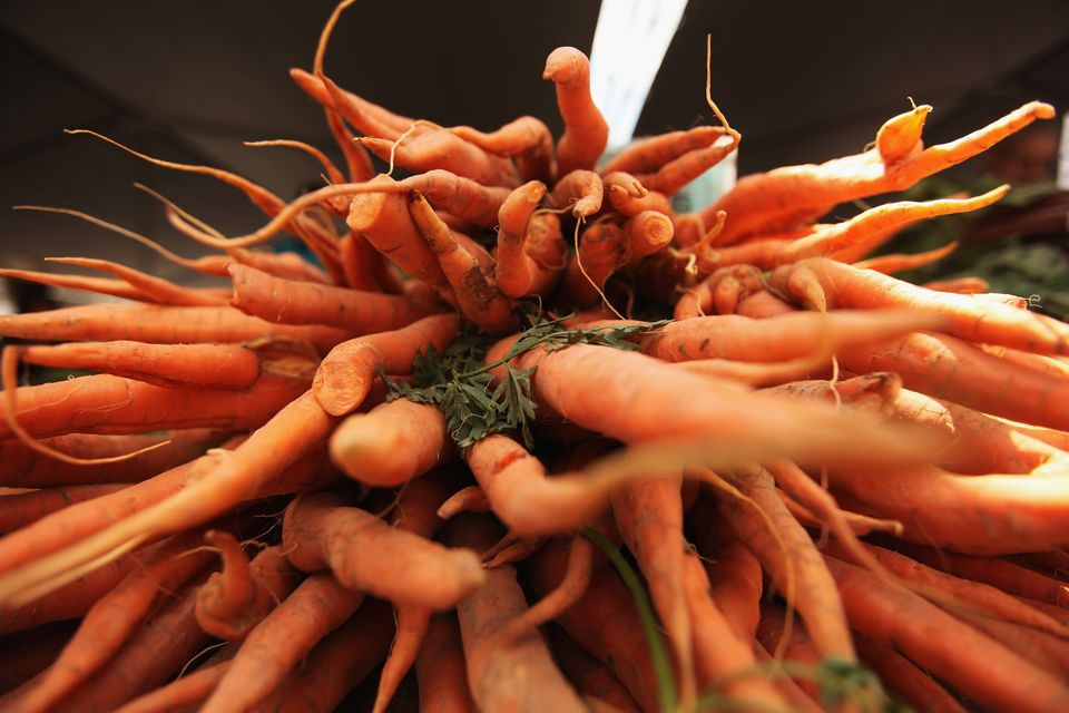 """Carrots have a high amount of beta-carotene, the precursor for vitamin A, among the common vegetables,"" says Snyder. ""Vitami"