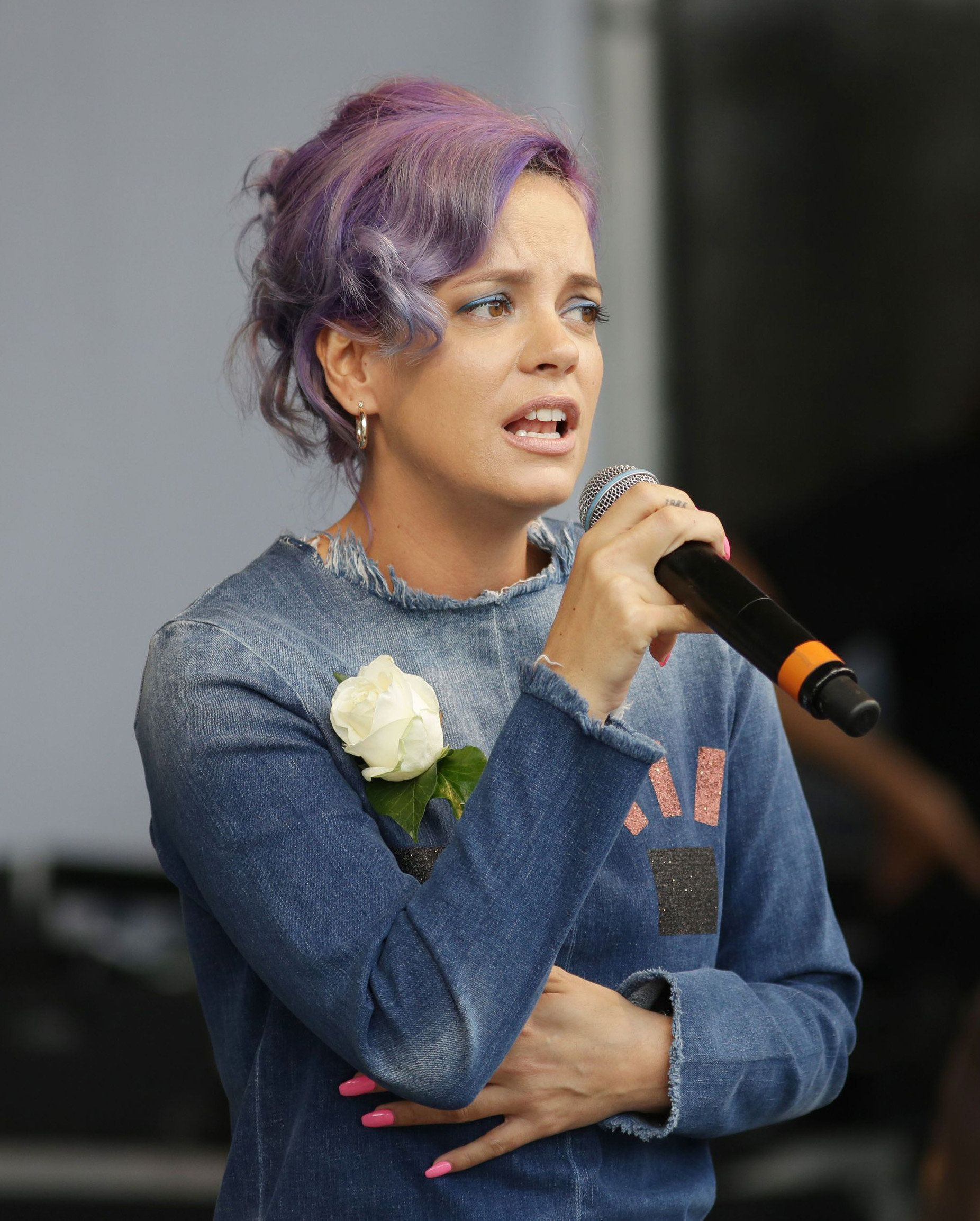 Lily Allen: I blamed myself for being victim of sex attack