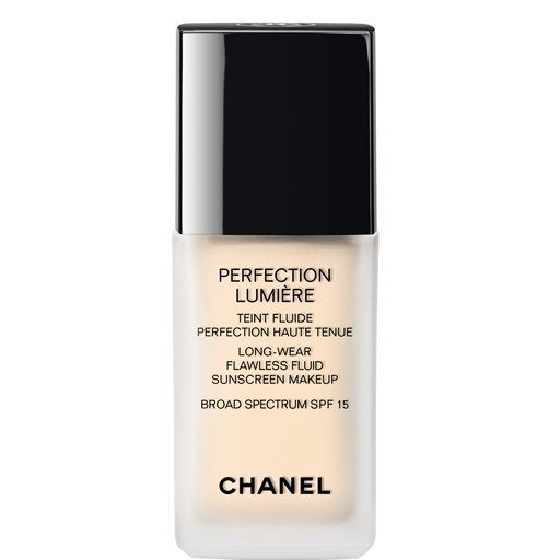 """<a href=""""http://www.chanel.com/en_US/fragrance-beauty/Makeup-Foundation-PERFECTION-LUMI%C3%88RE-123093"""">Chanel</a>"""