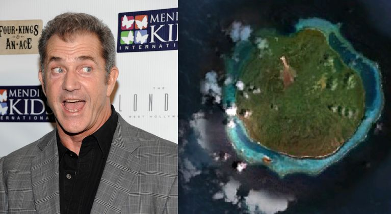 "It's a good thing Mel Gibson<a href=""http://www.thedailybeast.com/galleries/2011/08/14/celebrities-with-private-islands.html#"