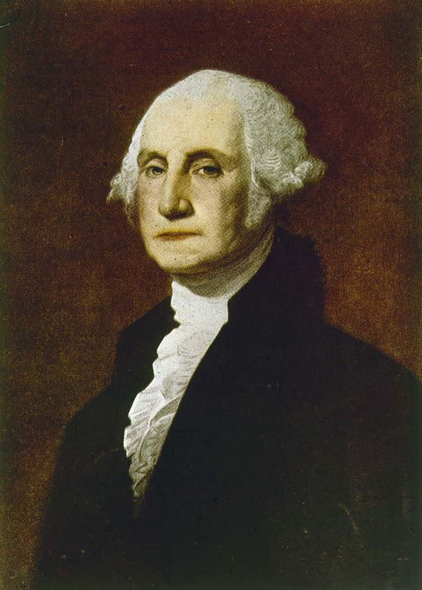 """George Washington <a href=""""http://paintedpouts.wordpress.com/tag/fun-facts/"""" target=""""_blank"""">would occasionally wear lipstick"""