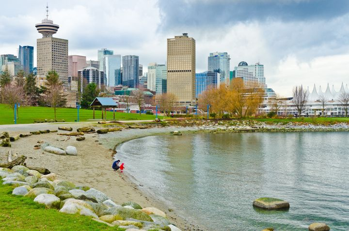 a view at downtown of vancouver ...