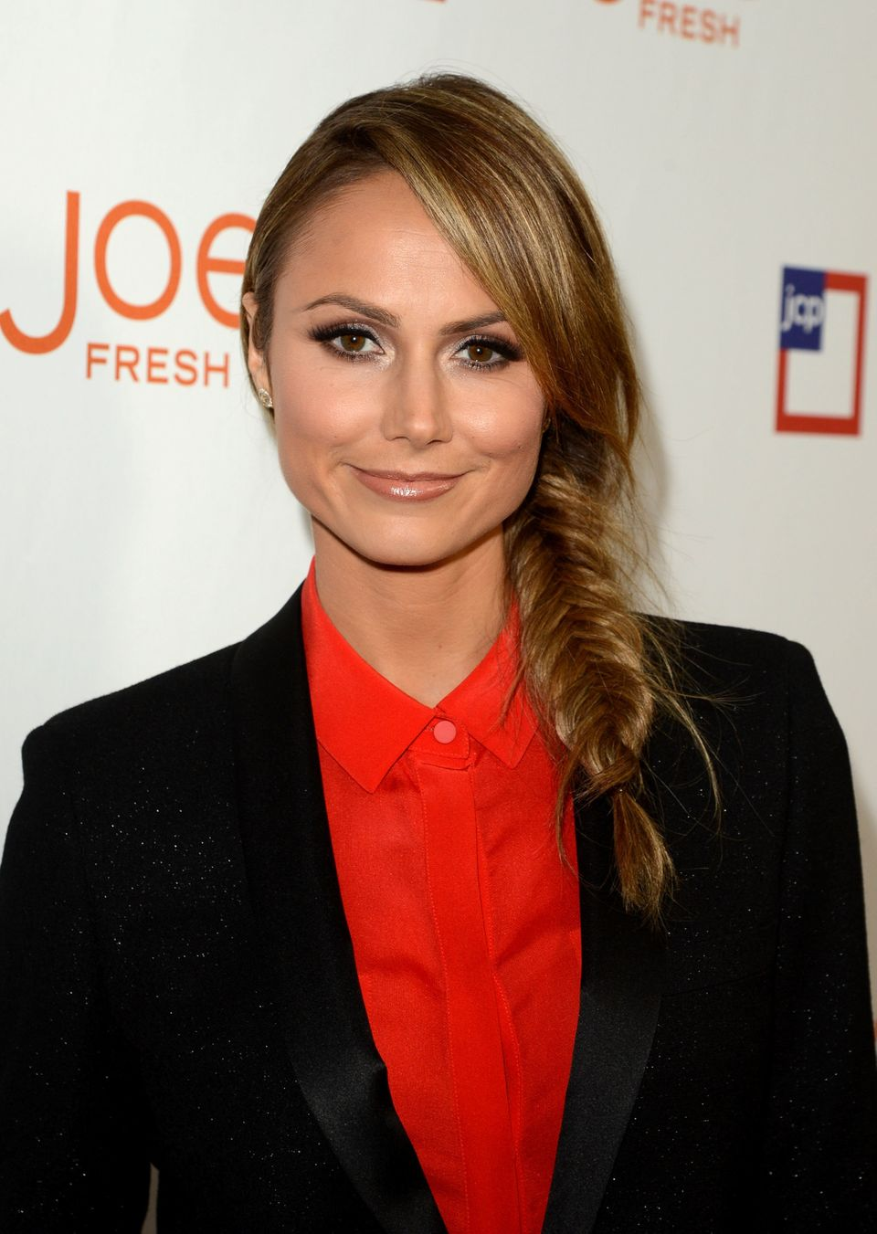 We've got <em>major</em> braid envy for Keibler's neat fishtail. Keeping her long layers shiny and smooth prevents the low-ma