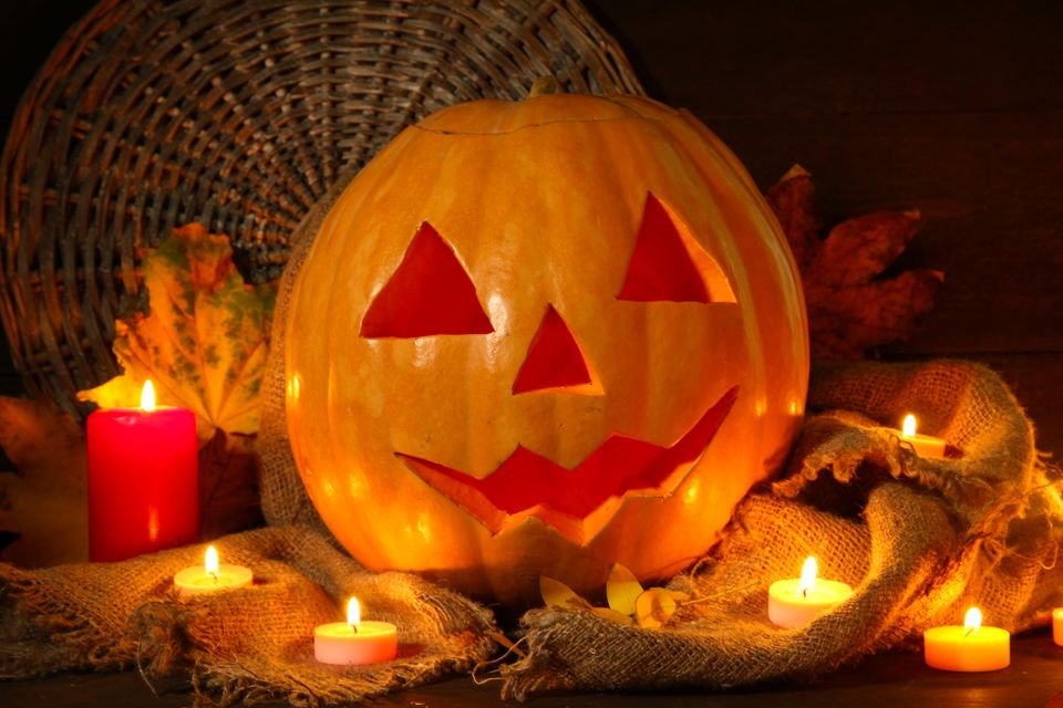 One woman told Glamour that her boyfriend suggested they have a pumpkin-carving contest and not show each other their finishe