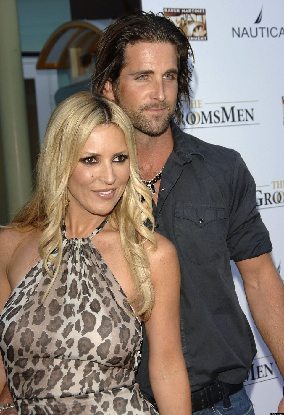 Actress Jillian Barberie and her husband Grant Reynolds attend the World Premiere of 'The Groomsmen' at the Arclight Cinema o