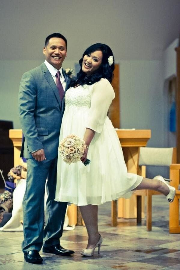 """@mrsabad: """"My husband of 16 yrs & I decided to have our marriage blessed at church."""""""