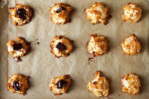 "<strong>Get <a href=""http://food52.com/recipes/16667-alice-medrich-s-new-classic-coconut-macaroons"" target=""_blank"">Alice Med"
