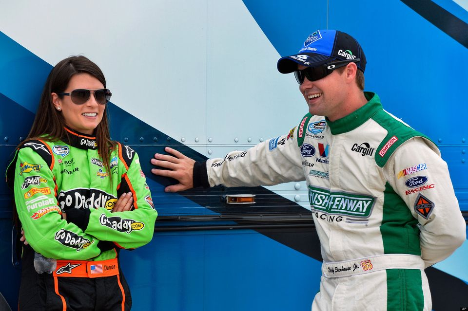 "NASCAR driver Danica Patrick announced she was <a href=""http://www.huffingtonpost.com/2013/01/25/danica-patrick-ricky-stenhou"