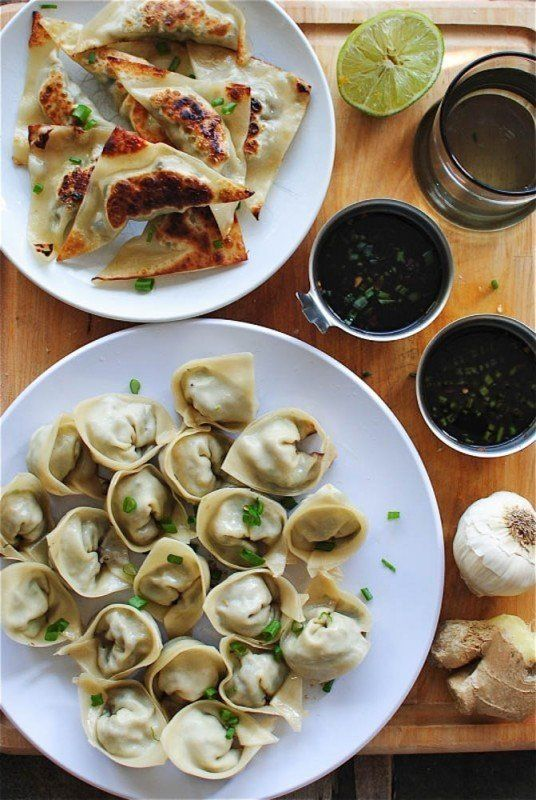 "<strong>Get the <a href=""http://bevcooks.com/2013/09/pan-fried-pork-dumplings/"" target=""_blank"">Pan Fried Pork Dumplings</a>"