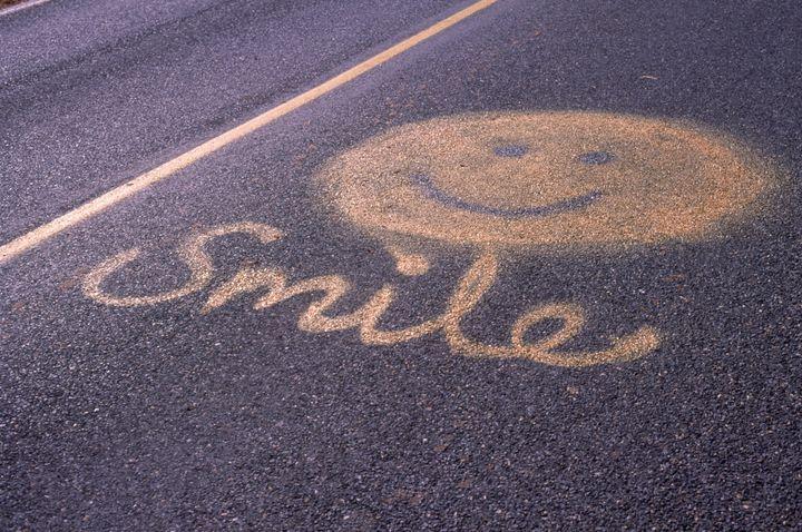 Anti road rage sign, Natick, MA