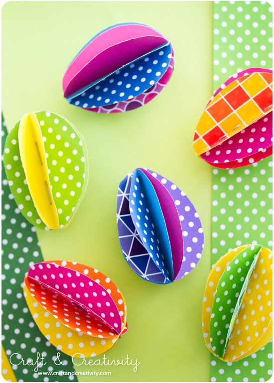 Easter Ideas 8 Quick And Easy Holiday Crafts Using Paper Photos
