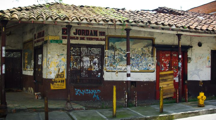 Searching for an Old City in Medellin, Colombia
