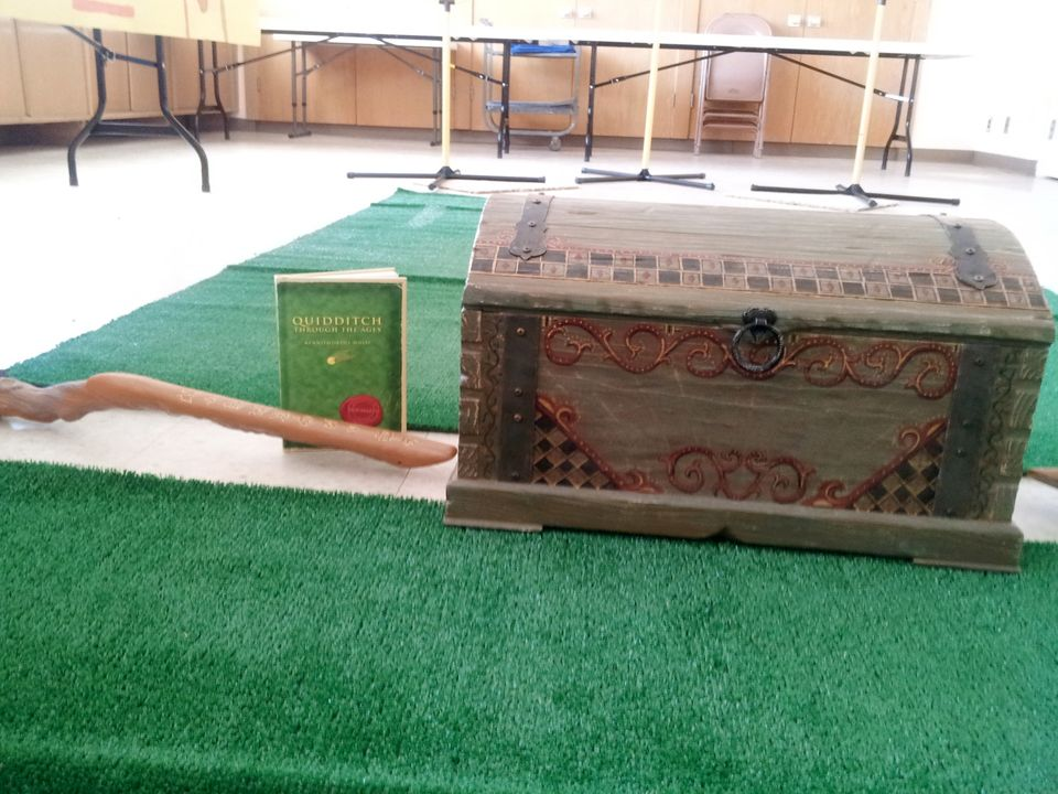 The Quidditch box