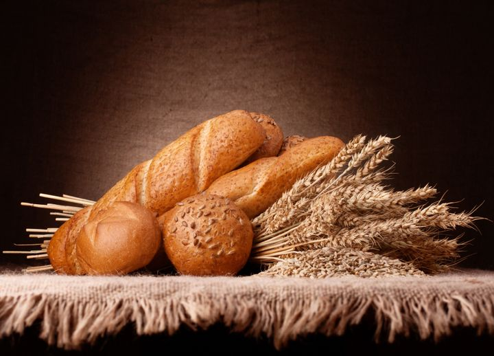 assortment of breads and ears...