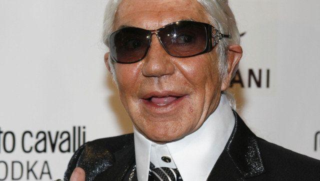 hot sale online a4654 adadf Roberto Cavalli: 'Karl Lagerfeld, He Looks Ridiculous ...