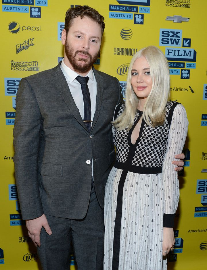 AUSTIN, TX - MARCH 10:  Founder of Napster Sean Parker (L) and fiance Alexandra Lenas attend the World Premiere of 'Downloaded' during the 2013 SXSW Music, Film + Interactive Festival at Paramount Theatre on March 10, 2013 in Austin, Texas.  (Photo by Michael Buckner/Getty Images for SXSW)
