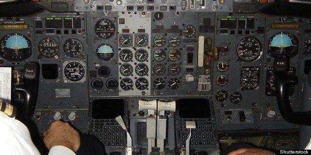 pilot and copilot operating...