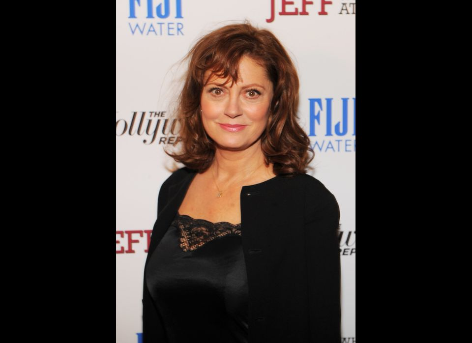 Actress Susan Sarandon, 66.