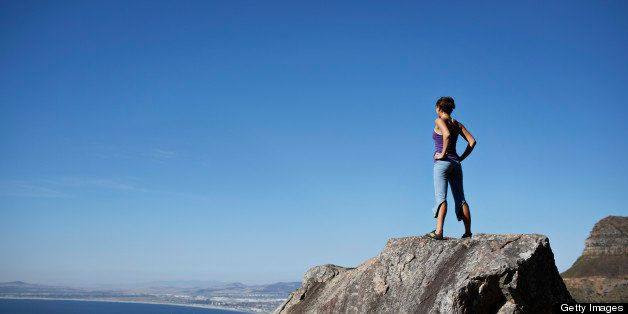 Bouldering climbing