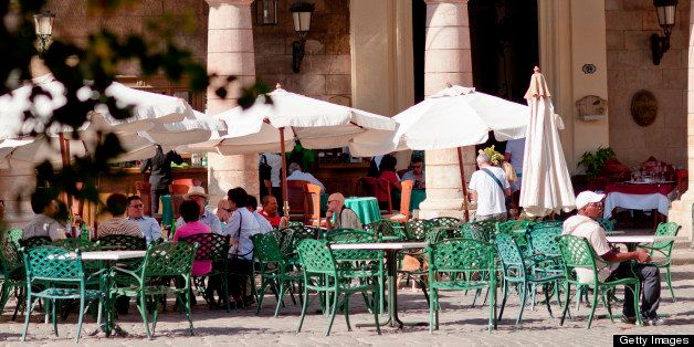 At Plaza de la Catedral.