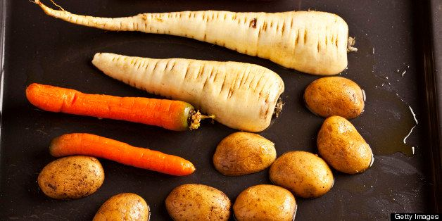 raw root vegetable for healthy vegetarian cooking