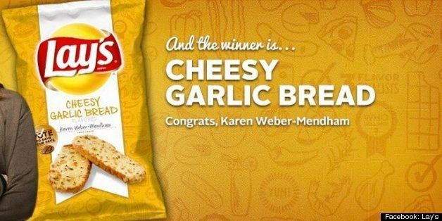 Lay's Cheesy Garlic Bread Potato Chips Wins 'Do Us A Flavor' Contest