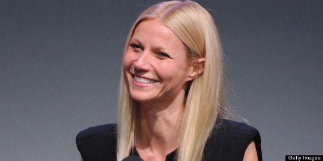 NEW YORK, NY - MAY 07:  Gwyneth Paltrow attends Apple Store Soho Presents: Meet The Developer Gwyneth Paltrow - 'Goop City Gu
