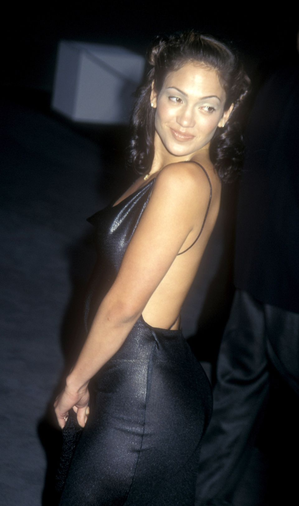 Jennifer Lopez during Tom Ford of Gucci Hosts Fashion Benefit for APLA - June 5, 1997 at Santa Monica Airport in Santa Monica