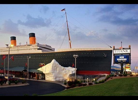 Just sitting along a highway in Branson. (Credit: Titanic Museum Attraction)