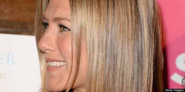 LOS ANGELES, CA - APRIL 30:  Actress Jennifer Aniston attends SELF Magazine and Jennifer Aniston's celebration of Mandy Ingber's new book 'Yogalosophy: 28 Days to the Ultimate Mind-Body Makeover' (Seal Press) on April 30, 2013 in Los Angeles, California.  (Photo by Jason Merritt/Getty Images for SELF Magazine)