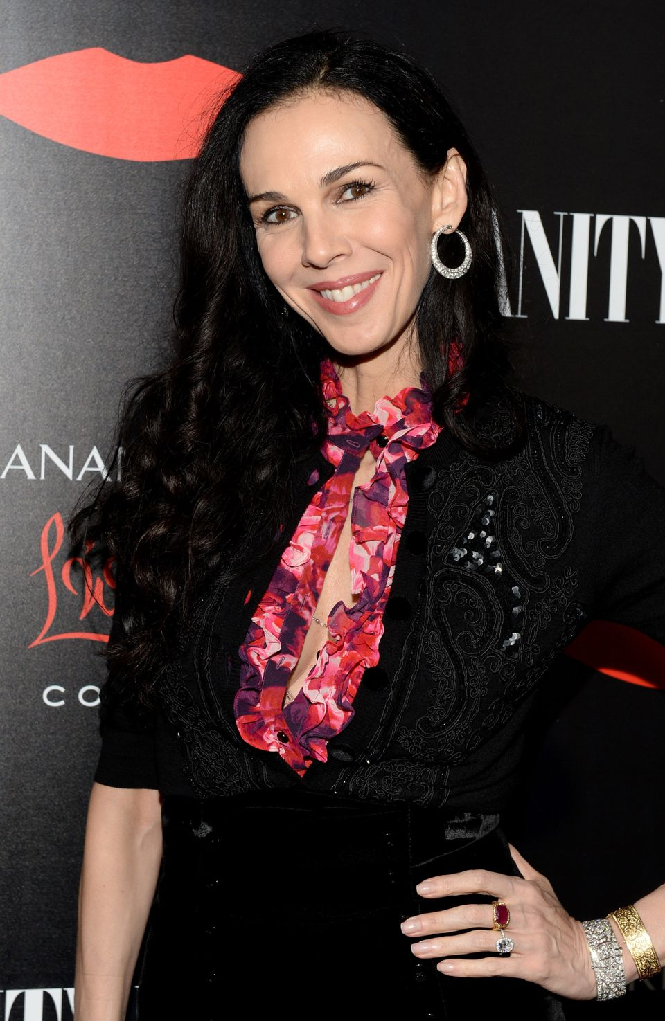"L'Wren Scott, fashion designer and Rolling Stones frontman Mick Jagger's longtime girlfriend, <a href=""https://www.huffpost.c"