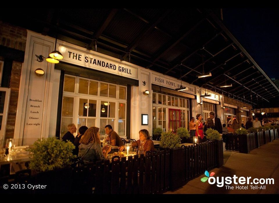 Situated under the High Line in the trendy Meatpacking District, the Standard Grill has remained a neighborhood hot spot, whi