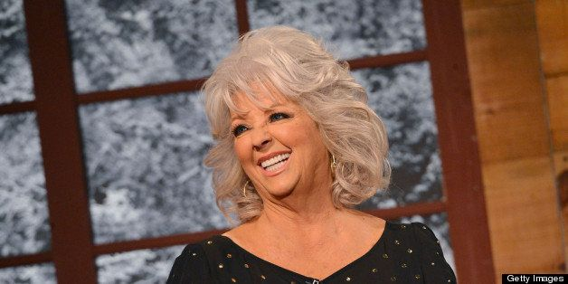 NEW YORK, NY - DECEMBER 06:  Cooking show host Paula Deen visits Fox & Friends Christmas Special at FOX Studios on December 6