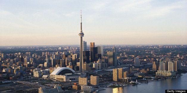 Canada, Ontario, Toronto skyline