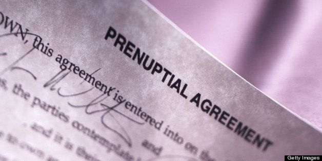 Sign This Or Else How Prenup Powerplays Prevail Huffpost Life
