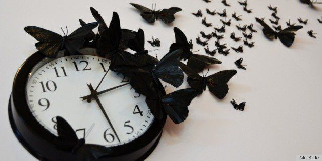 DIY Time Flies Butterfly Clock | HuffPost Life