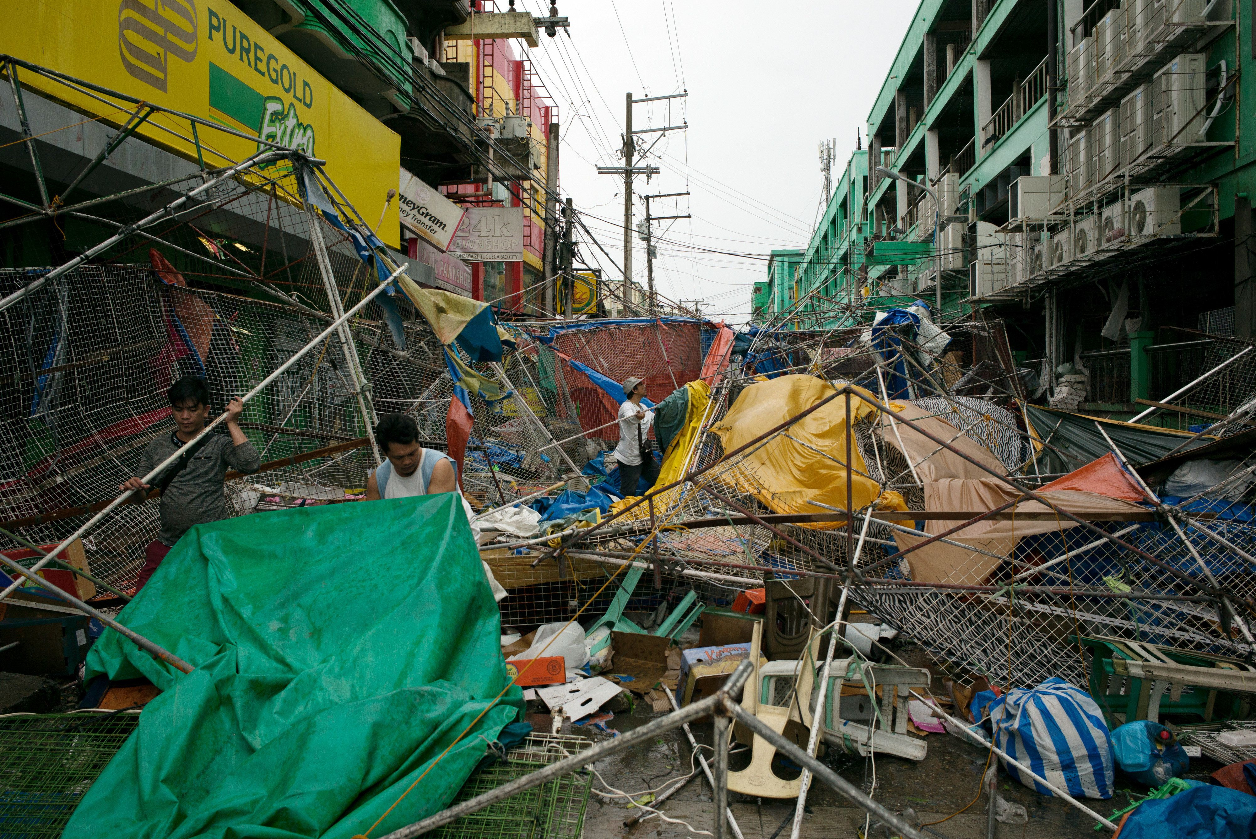 At Least 12 Dead After Typhoon Mangkhut Batters The