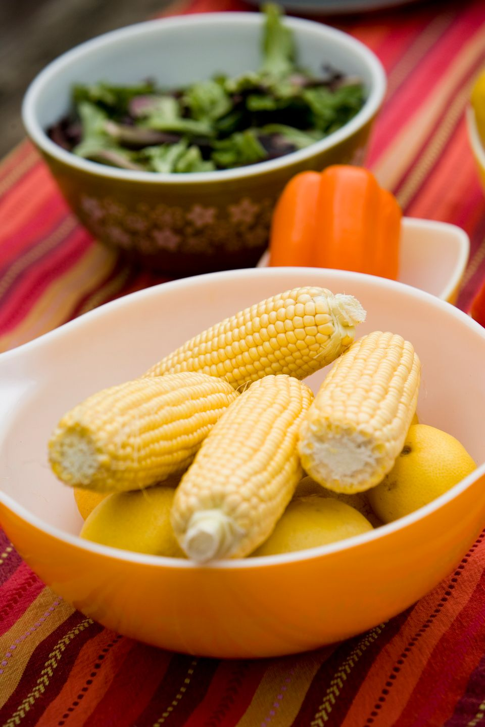 """Who doesn't love corn off the grill? But instead of slathering on a ton of butter and <a href=""""http://health.usnews.com/healt"""
