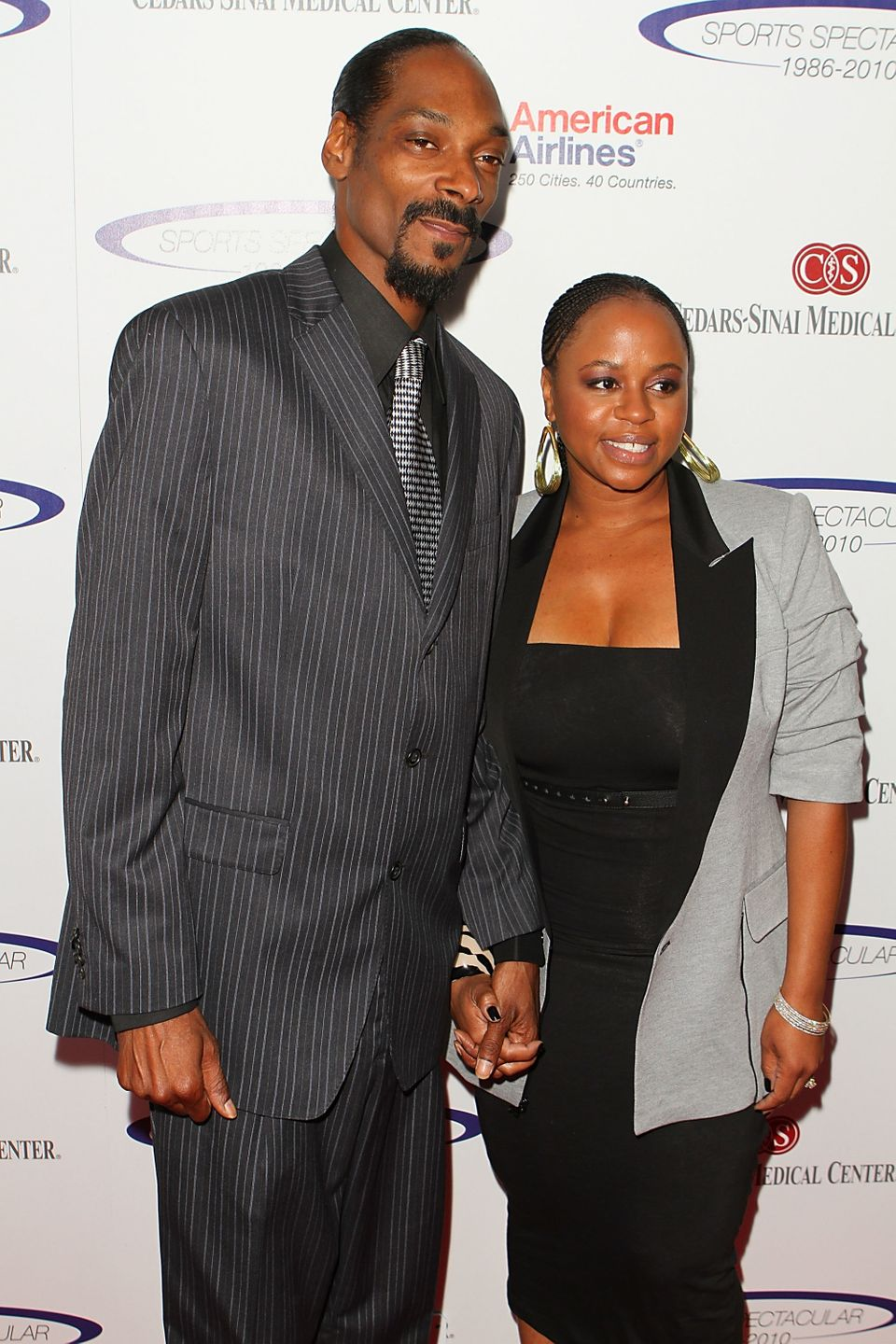 """Snoop Dogg and wife Shante Taylor were classmates at <a href=""""http://www.hollywoodreporter.com/news/snoop-dogg-reincarnated-p"""