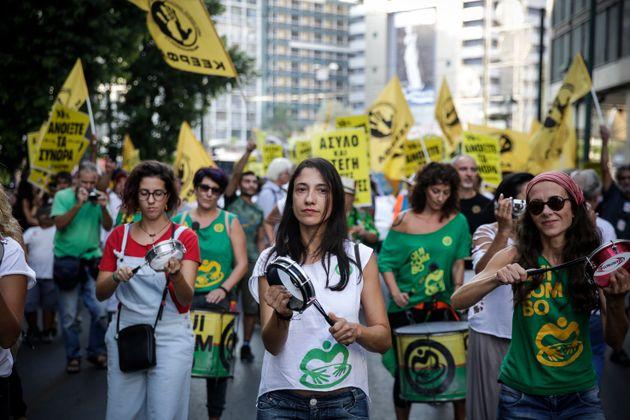 «Φτάνει πια με το φασισμό». Οι πολίτες ένωσαν τις φωνές τους ενάντια στη