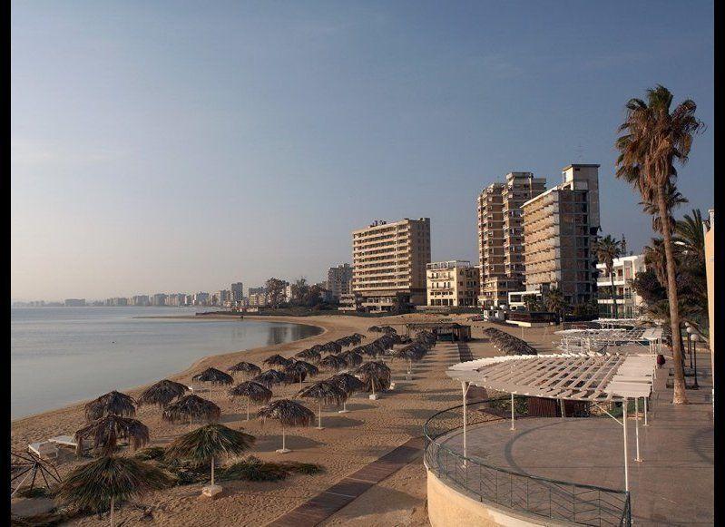 VAROSHA Famagusta, Cyprus  Once a popular beach destination for stars like Brigitte Bardot, the resort town of Varosha was