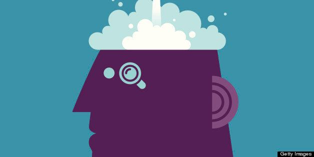 Vector illustration - Launch Brain